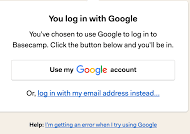 google login example